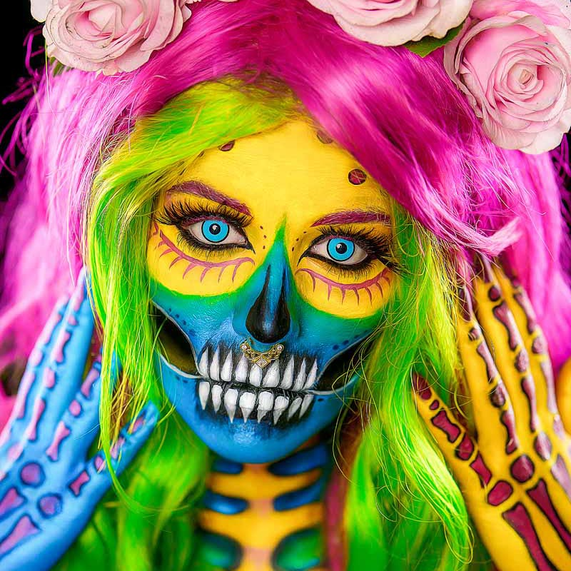 Bodypaint Fotoshooting